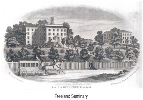 Freeland Seminary in Collegeville