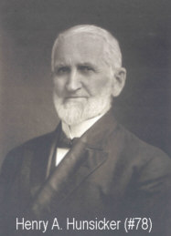 Henry A. Hunsicker, Principle of Freeland Seminary and son of Abraham & Elizabeth Hunsicker