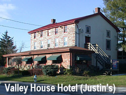 Valley House Hotel (now called Justin's) as it looks today (2003)