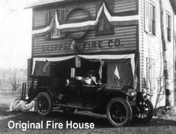 Orignial Firehouse at the corner of Mensch Road & Skippack Pike